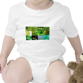Green Photo Collage Tshirt