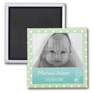 Green photo magnet