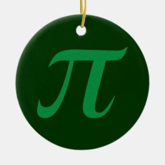 Green Pi Ornament