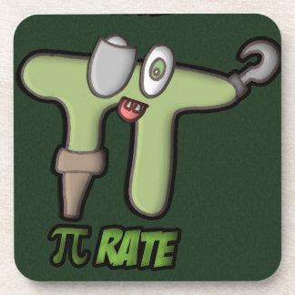 GREEN PI-RATE POSAVASOS