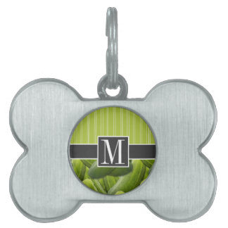Green Pickle; Pickles Pet Tag