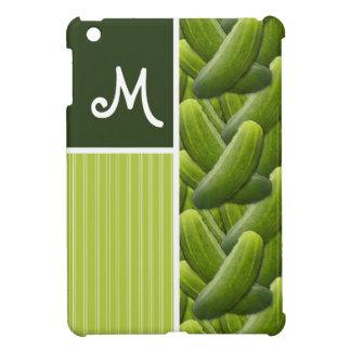 Green Pickles; Pickle Pattern iPad Mini Case