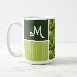 Green Pickles; Pickle Pattern Mug