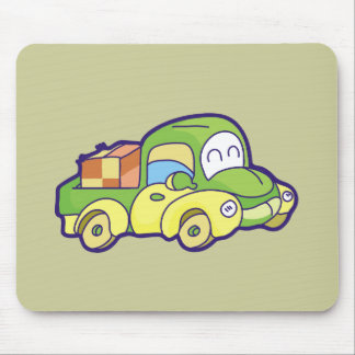 Green Pickup Truck Tshirts and Gifts Mouse Pad