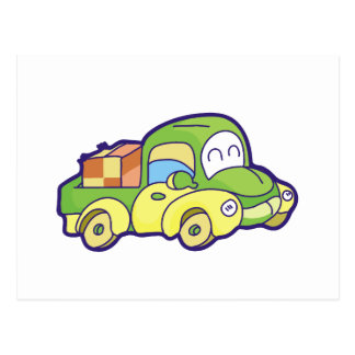 Green Pickup Truck Tshirts and Gifts Postcard