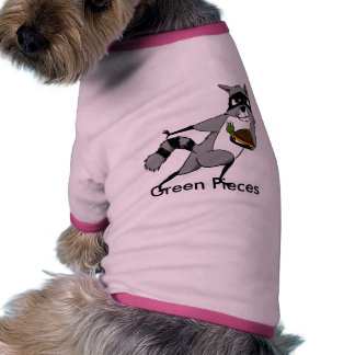 Green Pieces Roc Star Doggie Ringer Shirt Dog Clothes