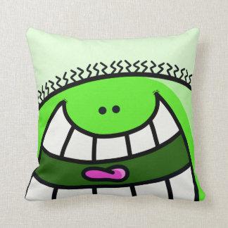 Green Pillow Man