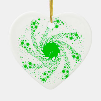 Green Pin Wheel Christmas Ornament