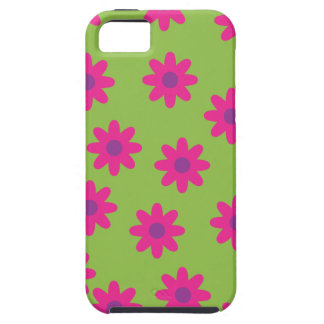 Green & Pink/Purple Iphone 5 Case