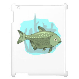 Green Piranha Case For The iPad