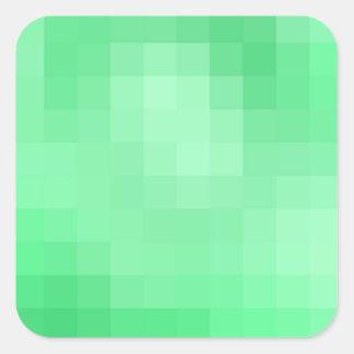 Green Pixel Sticker