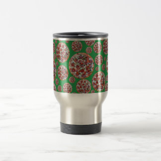 Green pizza pie coffee mug