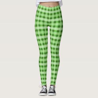 Green Plaid 2.0 Leggings
