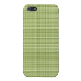 Green Plaid Case iPhone 5 Case