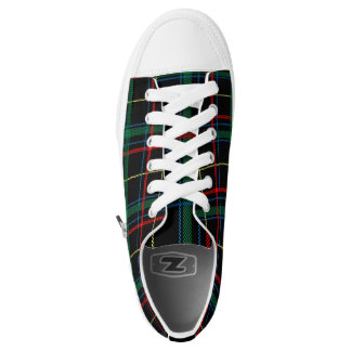 Green Plaid checkered designer converse Sneakers