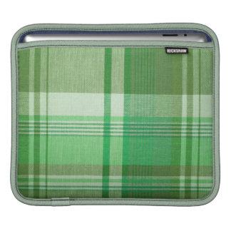 Green Plaid iPad Sleeve