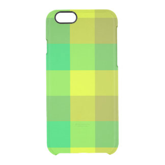 Green Plaid iPhone 6s Deflector Case