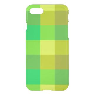 Green Plaid iPhone 7 Deflector Case