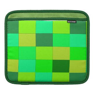 green plaid laptop sleeve iPad sleeve