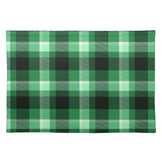 Green Plaid Pattern Placemat