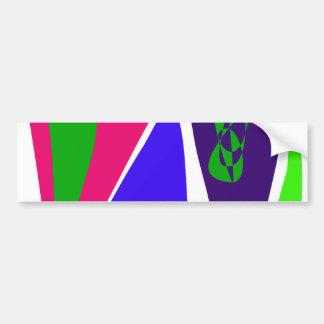 Green Planet Bumper Sticker