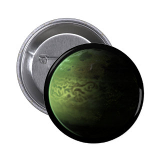 Green Planet Button