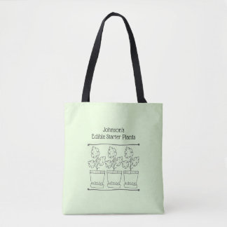 Green Plant and Tree Nursery Business Tote Bag