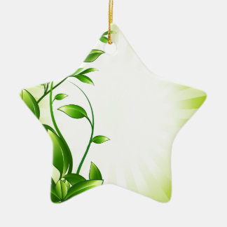 Green Plant Fash Ornaments