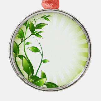 Green Plant Fash Christmas Ornament
