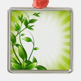 Green Plant Fash Christmas Tree Ornaments