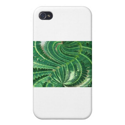 Green Plant Cover For iPhone 4