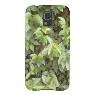 Green plant leaf case for galaxy s5