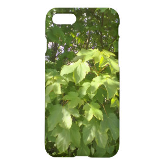Green plant leafs iPhone 8/7 case