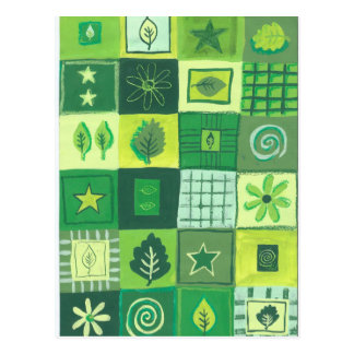 Green & Pleasant Postcard