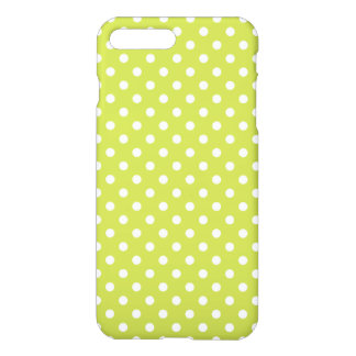 Green Polka Dots Pattern iPhone 7 Plus Case