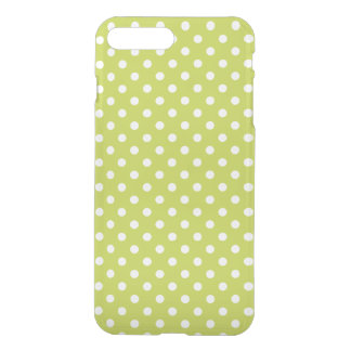 Green Polka Dots Pattern iPhone 8 Plus/7 Plus Case
