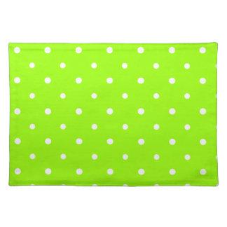 Green Polka Dots Placemat