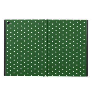 Green Polkadot Case For iPad Air