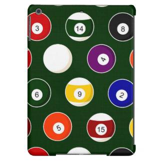 Green Pool Ball Billiards Pattern iPad Air Case