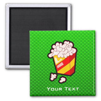 Green Popcorn Magnet