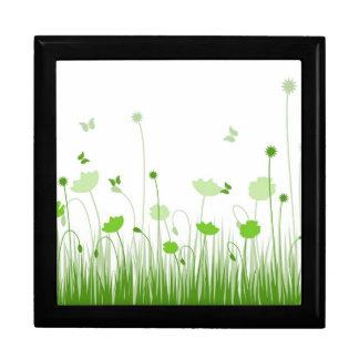 Green poppies Gift Box