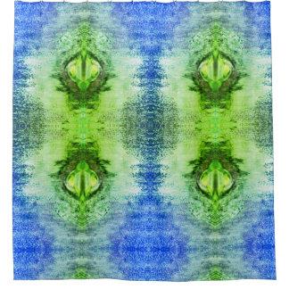 Green Portal Shower Curtain