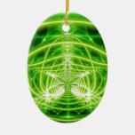 Green Pot Leaf Fractal