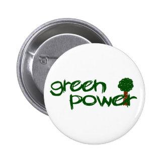 Green Power Buttons