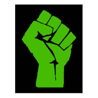 Green power postcard