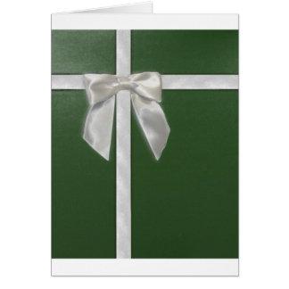green present greeting card