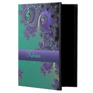 Green Purple Music Fractal iPad Air 2 Case
