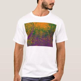 green purple orange elephant T-Shirt