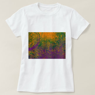 green purple orange elephant T-Shirt
