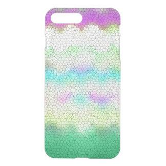 Green Purple Teal Ikat Chevron Zigzag iPhone 7 Plus Case